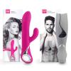 LOVERSPREMIUM Venus & Vulcan - vibrátor szett pároknak (pink-szürke)