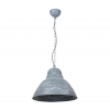 Luminex Függeszték ARTIS 1xE27/60W patina ezüst