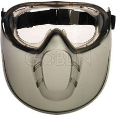 Lux Optical® Stormlux védõszemüveg, gumipántos, páramentes védõszemüveg arcvédõvel