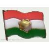 Lyukas zászló jelvény 25 mm