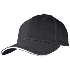 M-Collection SANDWICH baseballsapka, fekete