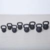 m-tech (H) X100571 Öntöttvas kettlebell gumi talppal, 12 kg