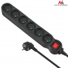 MACLEAN Maclean MCE188 Power Strip 6-outlet with switch 5m Cable