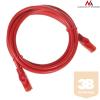 MACLEAN Maclean MCTV-303R Patchcord UTP cat6 Cable plug-plug 3m red