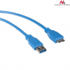 MACLEAN Maclean MCTV-586 Cable USB 3.0 AM microBM cable Plug-in connector