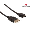 MACLEAN Maclean MCTV-749 USB 2.0 Hi-Speed A to mini-B 5 pin Cable Power & Data Lead 3m