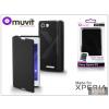 Made for Xperia MUVIT Sony Xperia E3 (D2203) flipes tok - Made for Xperia Muvit Easy Folio - black