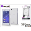 Made for Xperia MUVIT Sony Xperia E3 (D2203) hátlap - Made for Xperia Muvit miniGel - clear