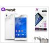 Made for Xperia MUVIT Sony Xperia Z3 (D6603) képernyő- és hátlapvédő fólia - Made for Xperia Muvit - 2 db/csomag - antifinger/antiglare