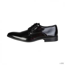 Made In Italia készült Italia férfi alkalami cipő virágENT_VERNICE_fekete