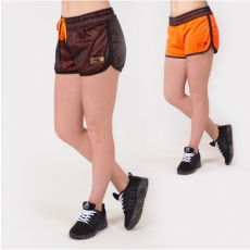 MADISON REVERSIBLE SHORT - BLACK/NEON ORANGE (BLACK/ORANGE) [S]