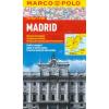 Madrid vízhatlan várostérkép tömegközlekedéssel - Marco Polo