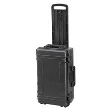 MAGG PROFI MAXI Manyag koffer 585x361x238 mm, IP 67, fekete, fogantyúval barkácsolás, csiszolás, rögzítés