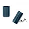 Mágneses tolltartó és táblatörlő, fekete, 12,8x6x3 cm