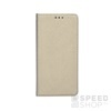 Magnet flip tok, Samsung G965 Galaxy S9+, arany