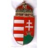 Magyar címer jelvény 30 mm