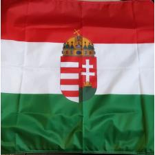Magyar zászló címeres 90x150 cm Magyar nemzeti zászló címerrel grafika, keretezett kép