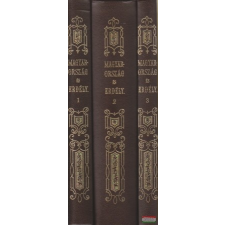 Magyarország és Erdély I-III. történelem