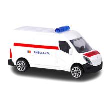 Majorette : Renault Master mentőautó - román feliratos autópálya és játékautó