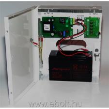 Makrai kapcsoló üzemű CCTV kamera tápegység, szünetmentes üzemmód, 3A, 5 kimenet, akkumulátorhely (12V/7Ah) biztonságtechnikai eszköz