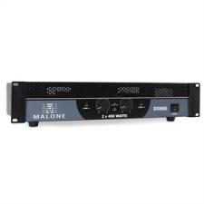 Malone DX800, 800 W, hidalható, PA erősítő erősítő