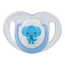 Mamajoo Mamajoo Ortodontikus cumi tárolódobozzal 0+ - Kék elefánt cumi