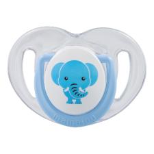 Mamajoo Mamajoo Ortodontikus cumi tárolódobozzal 6h+ - Kék Elefánt cumi