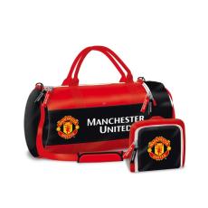 Manchester United: összehajtogatható sporttáska - piros