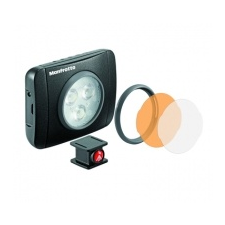 Manfrotto Lumie Play Led Lámpa és tartozékai , fekete videókamera kellék