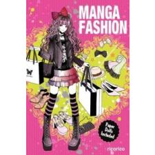Manga Fashion with Paper Dolls –  ricorico idegen nyelvű könyv