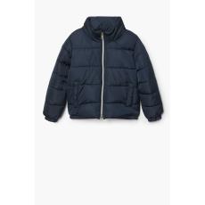 Mango Kids - Gyerek rövid kabát Ali 104-164 cm - sötétkék - 1358490-sötétkék