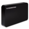 MANHATTAN 3,5' külső SATA merevlemez ház USB3.0 fekete /130295/