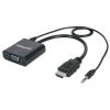 MANHATTAN HDMI apa --> VGA anya konverter  audio