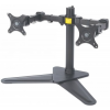 MANHATTAN LCD Monitor Stand with Double-Link Swing Arms