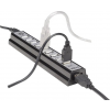 "MANHATTAN USB elosztó-HUB, 10 port, MANHATTAN ""Hi-Speed USB Desktop Hub"", fekete"