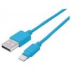 """MANHATTAN USB kábel, lightning, 1 m, MANHATTAN """"iLynk"""", kék"""