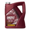 Mannol Motorolaj 5W-40 Energy Formula PD API SN/CF ACEA C3 HC Synthese 5 liter