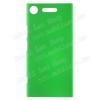 Mûanyag védõ tok / hátlap - ZÖLD - Hybrid Protector - Sony Xperia XZ1