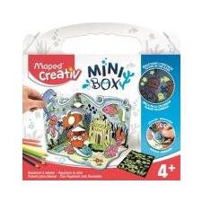 """MAPED CREATIV Akvárium készítő kreatív készségfejlesztő készlet, MAPED CREATIV, \""""Mini Box\"""" kreatív és készségfejlesztő"""
