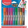 """MAPED Csillámos ragasztó, MAPED """"Color`Peps"""", 9 különbözõ szín"""