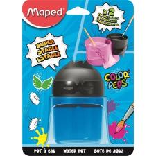 MAPED Ecsettál, műanyag, 2 rekeszes, ecset, festék