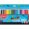 MAPED Filctoll készlet, 2 mm, kimosható, MAPED Color`Peps Ocean, 24 különböző szín (IMA845722)