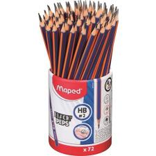 """MAPED Grafitceruza, ceruzatartó, HB, háromszögletű, MAPED """"Black`Peps Navy"""" ceruza"""