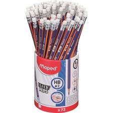 """MAPED Grafitceruza radírral ceruzatartó, HB, háromszögletű, MAPED """"Black'Peps Navy"""" ceruza"""
