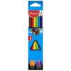 """MAPED Színes ceruza készlet, háromszögletű, MAPED """"Color'Peps"""", 6 különböző szín (IMA832002)"""