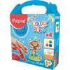 MAPED Ujjfesték, alap színek, 4x80 g, MAPED (IMA812510)