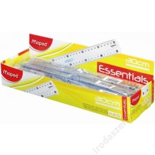 "MAPED Vonalzó, műanyag, kínáló dobozos MAPED ""Essentials"" vonalzó"