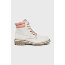 Marco Tozzi - Magasszárú cipő - halványszürke - 1443070-halványszürke
