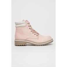 Marco Tozzi - Magasszárú cipő - pirosas rózsaszín - 1403395-pirosas rózsaszín