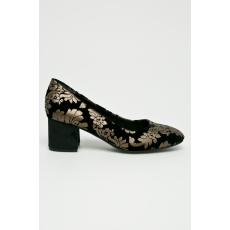 Marco Tozzi - Sarkas cipő - fekete - 1350746-fekete